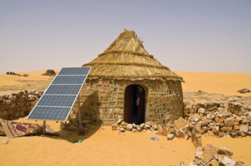 solar hut